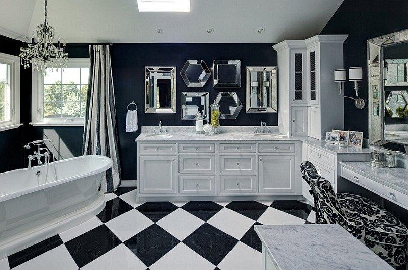 Black and White Bathroom Decor New Black and White Bathrooms Design Ideas Decor and Accessories