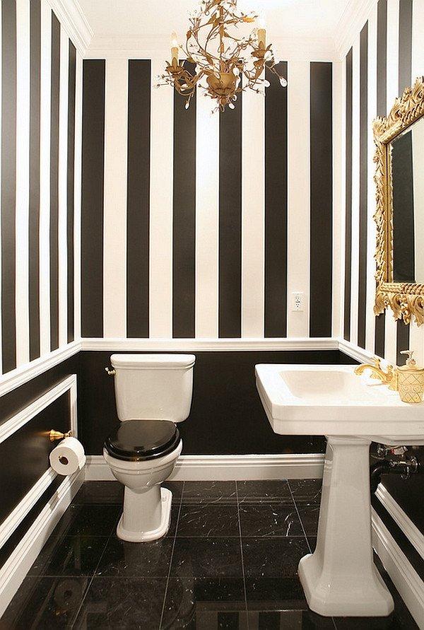 Black and White Bathroom Decor Unique Black and White Bathrooms Design Ideas Decor and Accessories