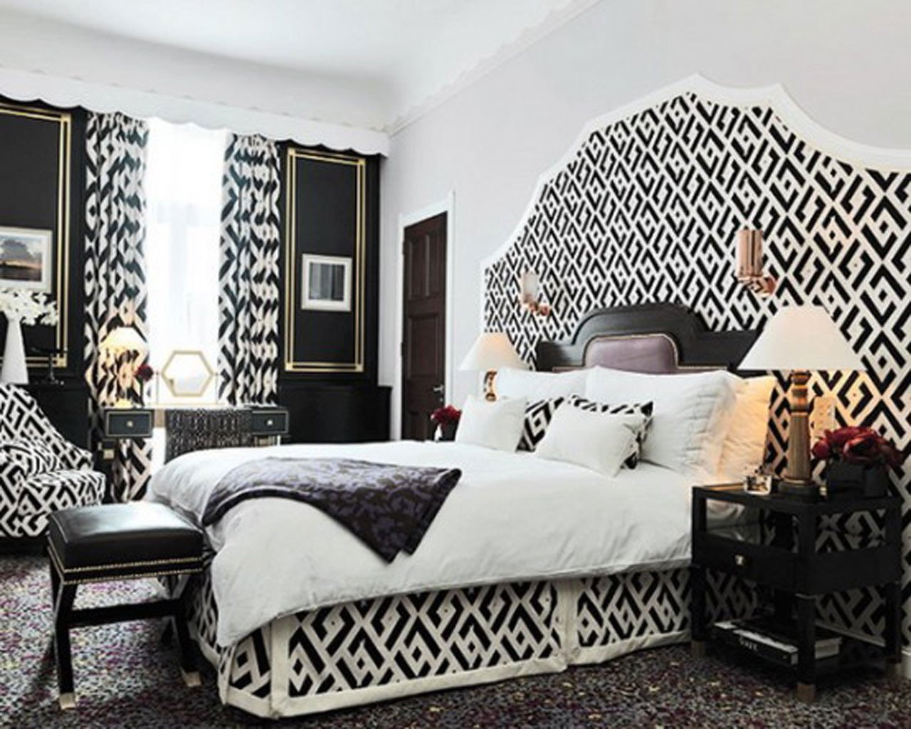 Black and White Bedroom Decor Beautiful Black and White Contemporary Interior Design Ideas for Your Dream Home Homesthetics