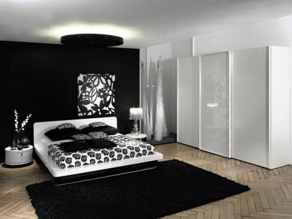 Black and White Bedroom Decor Beautiful Modern Black and White Bedroom Ideas