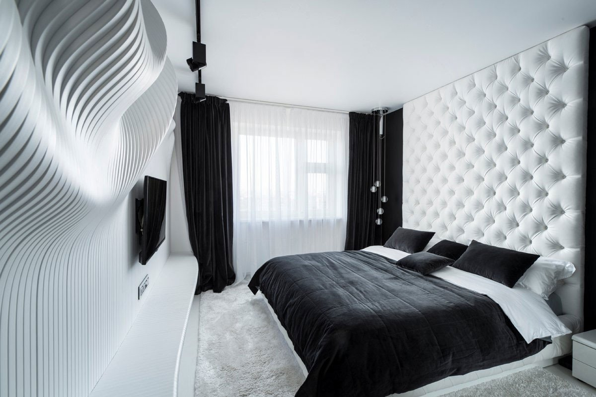 Black and White Bedroom Decor Luxury 40 Beautiful Black & White Bedroom Designs