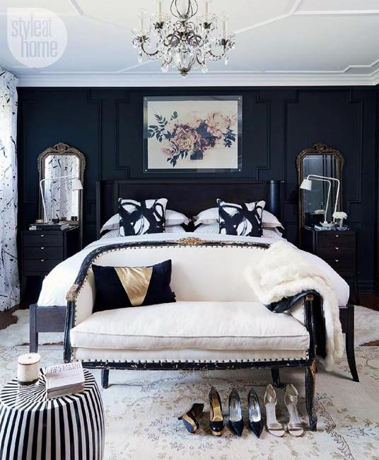 Black and White Bedroom Decor Unique 18 Stunning Black and White Bedroom Designs