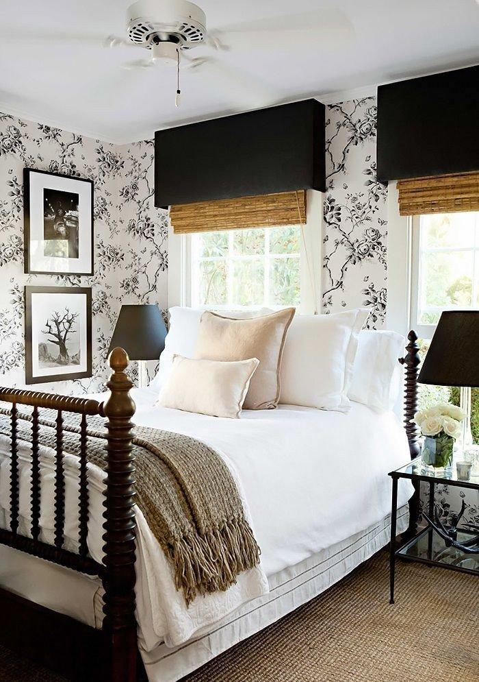 Black and White Bedroom Decor Unique 25 Simple Farmhouse Bedroom Design Ideas