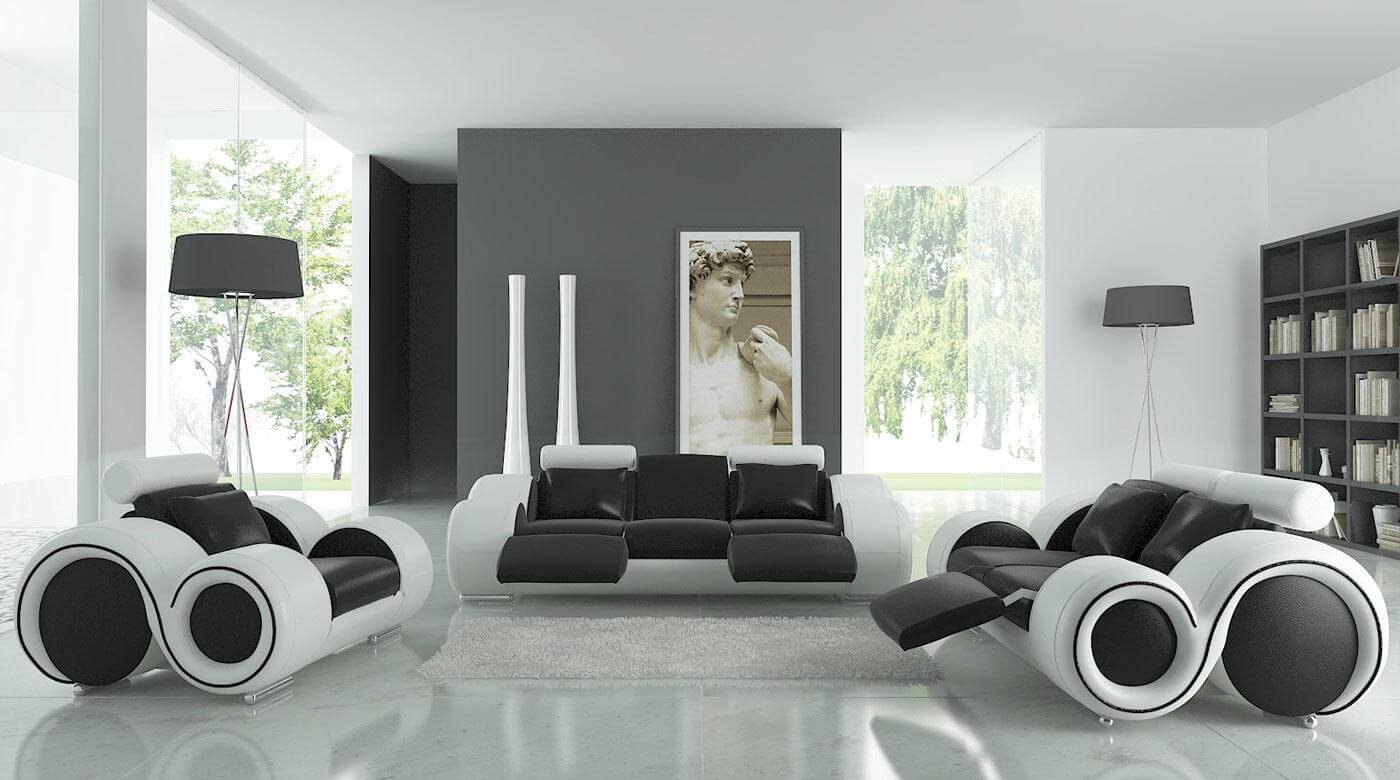 Black and White Decor Ideas Elegant Black and White Interior Design Ideas Modern Apartment by Architectures Ideas