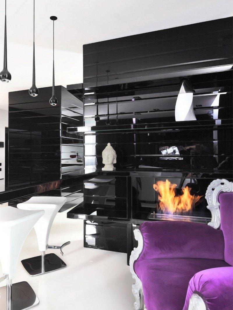 Black and White Decor Ideas Fresh Project Begovaya Stunningly Stylish Interiors In Striking Black and White