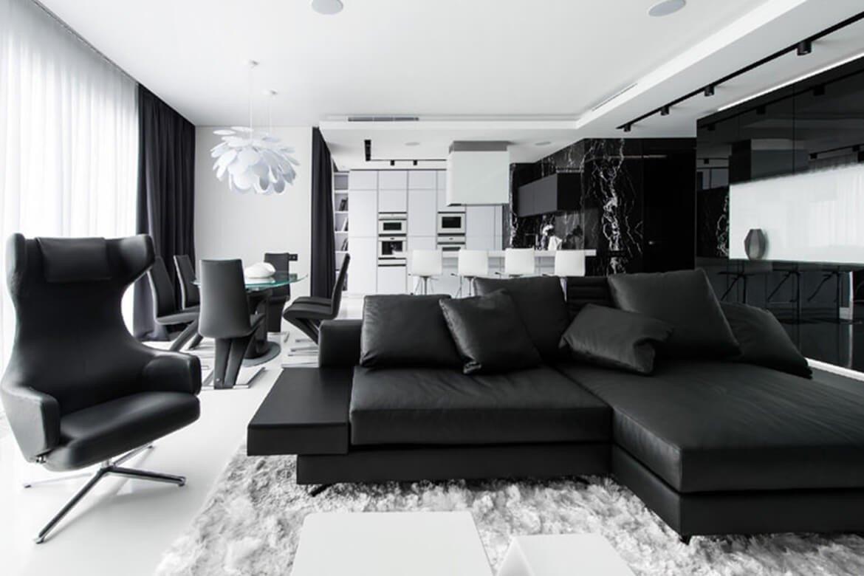 Black and White Decor Ideas Unique Black and White Interior Design Ideas Modern Apartment by Architectures Ideas