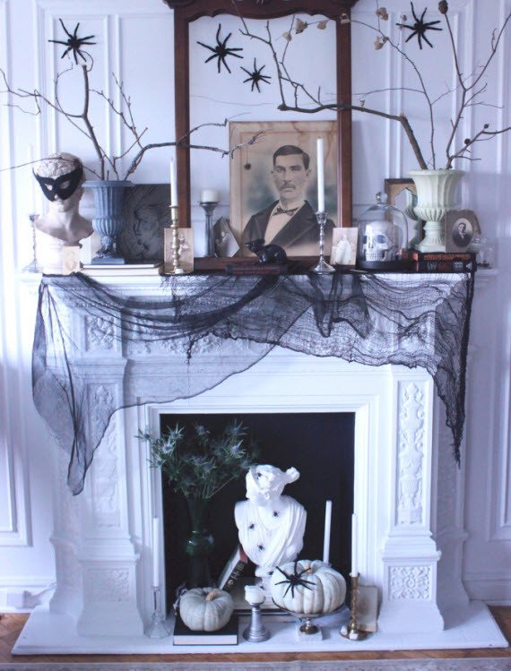 Black and White Halloween Decor Best Of 31 Ideas for Stylish Black & White Halloween Decorations