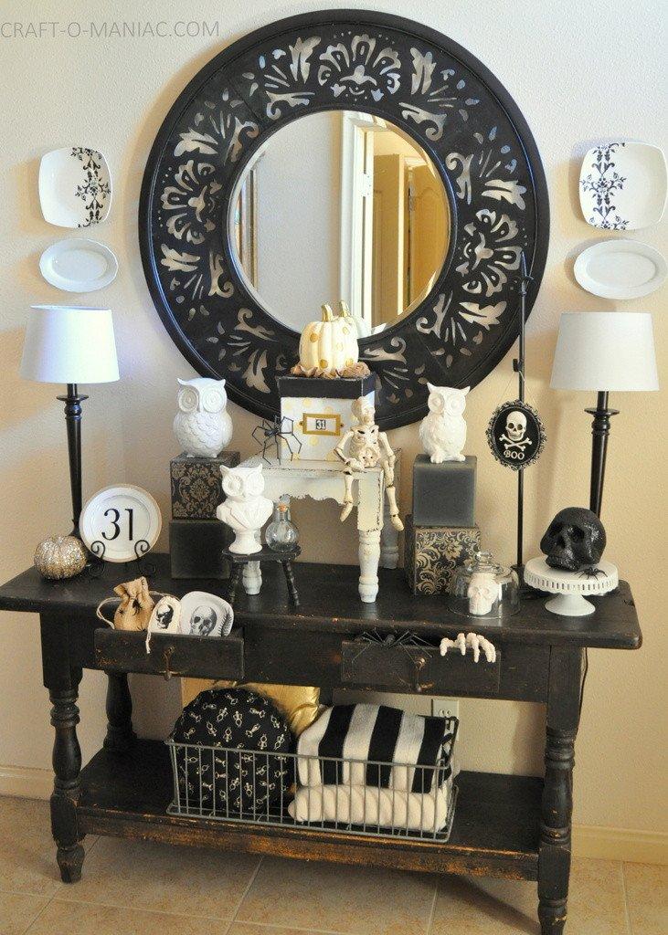 Black and White Halloween Decor Best Of Black and White Halloween Decor