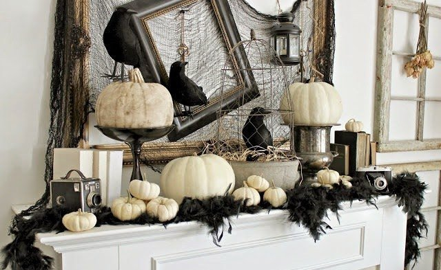 Black and White Halloween Decor Fresh who Says orange is the New Black sophisticated Black and White Halloween Decor and Party