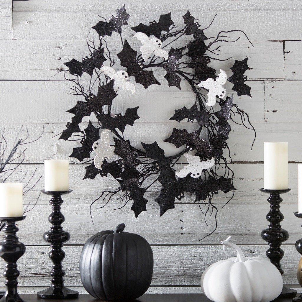 Black and White Halloween Decor Luxury 31 Ideas for Stylish Black & White Halloween Decorations