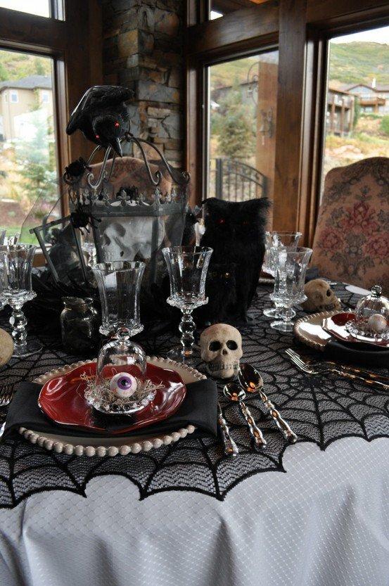 Black and White Halloween Decor Unique 70 Ideas for Elegant Black and White Halloween Decor Digsdigs