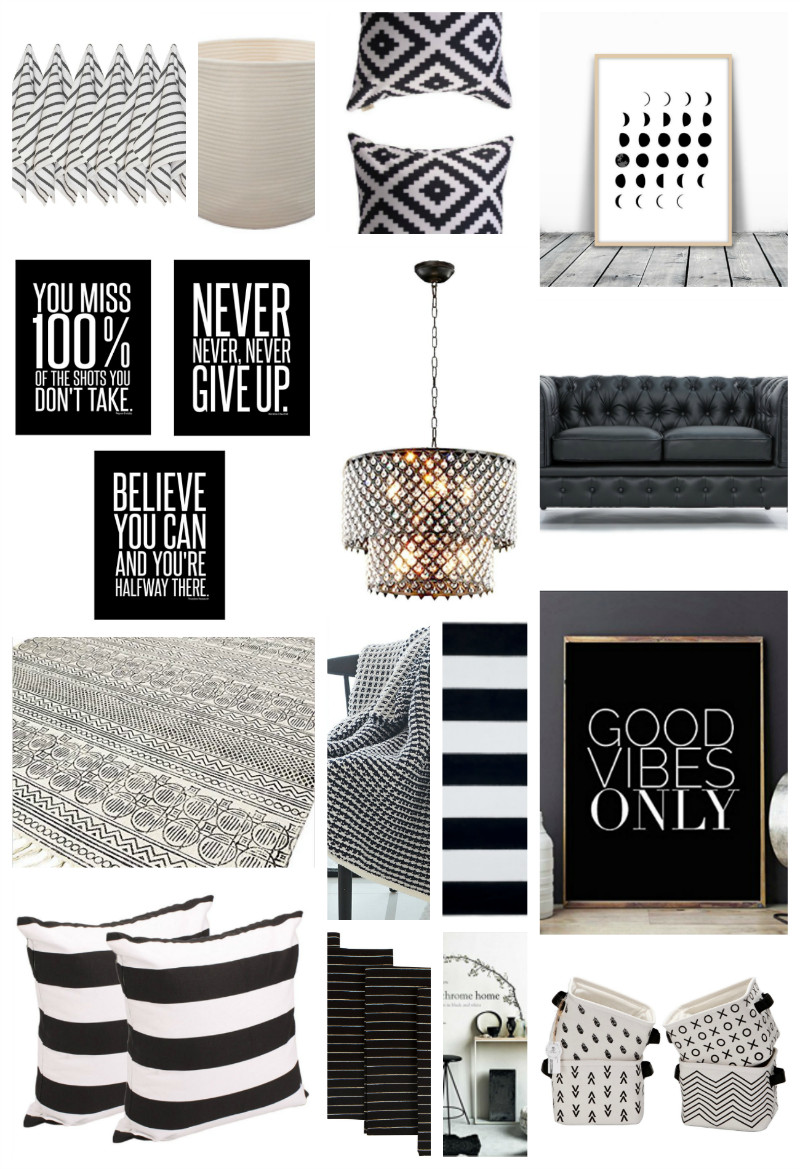 Black and White Home Decor Awesome 22 Black and White Home Decor Pieces You Ll Love Thirty Eighth Street