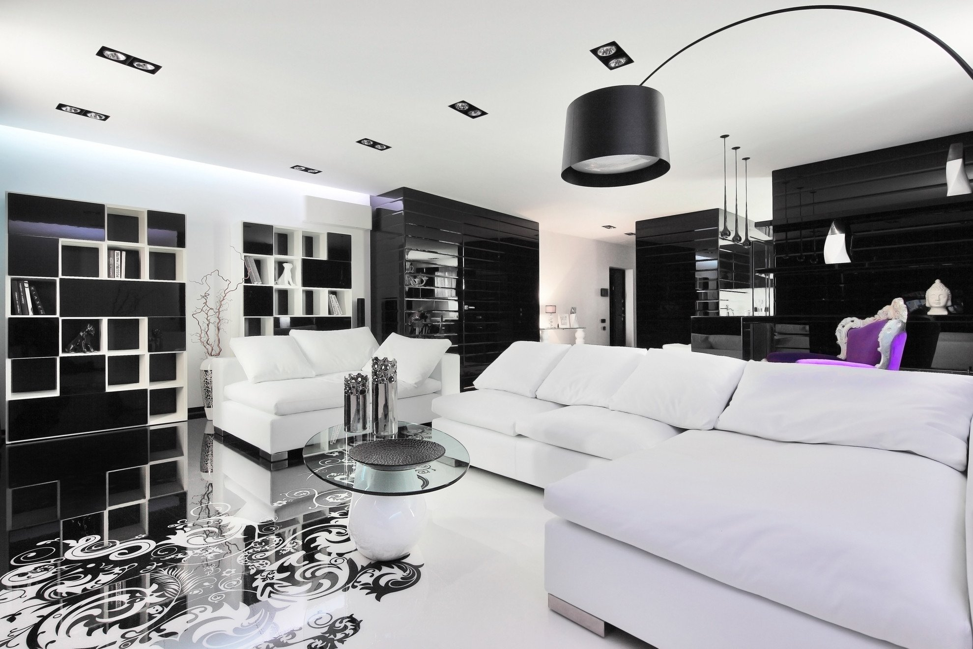 Black and White Home Decor Awesome Black and White Graphic Decor