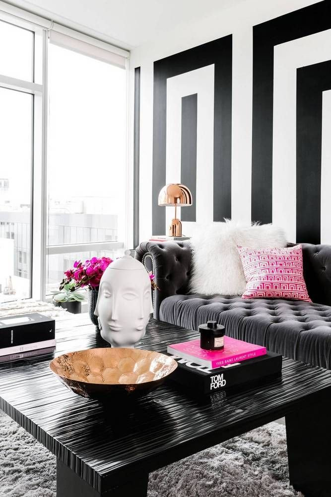 Black and White Home Decor Beautiful Black and White Modern Home Decor Ideas Living