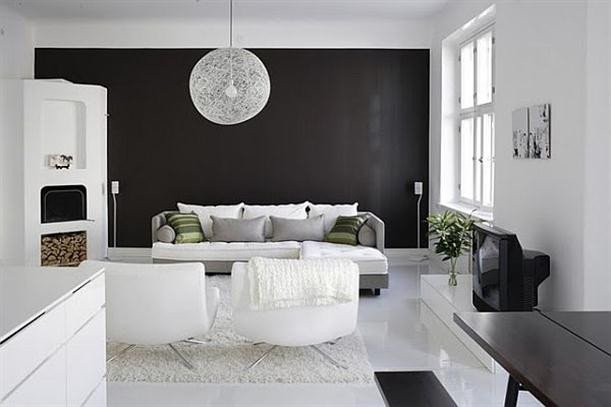 Black and White Home Decor Beautiful Stylish Home Black and White Interiors