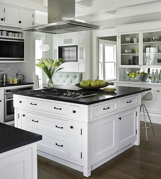 Black and White Kitchen Decor Beautiful 33 Inspired Black and White Kitchen Designs Decoholic