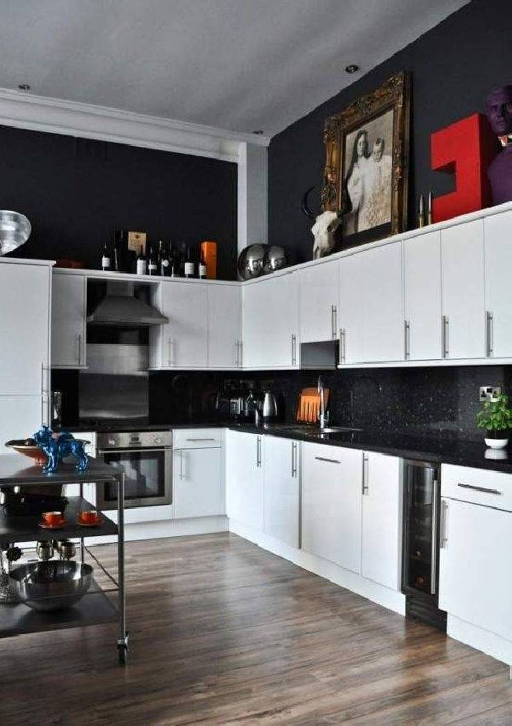 Black and White Kitchen Decor Best Of Black and White Kitchen Decor to Feed Exclusive and Modern Passion