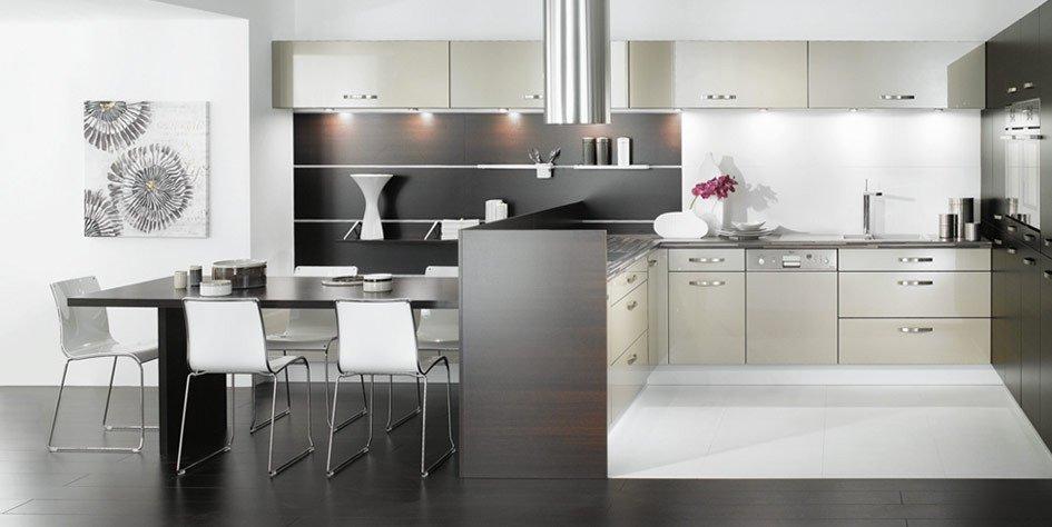 Black and White Kitchen Decor Fresh Black and White Kitchen Designs From Mobalpa