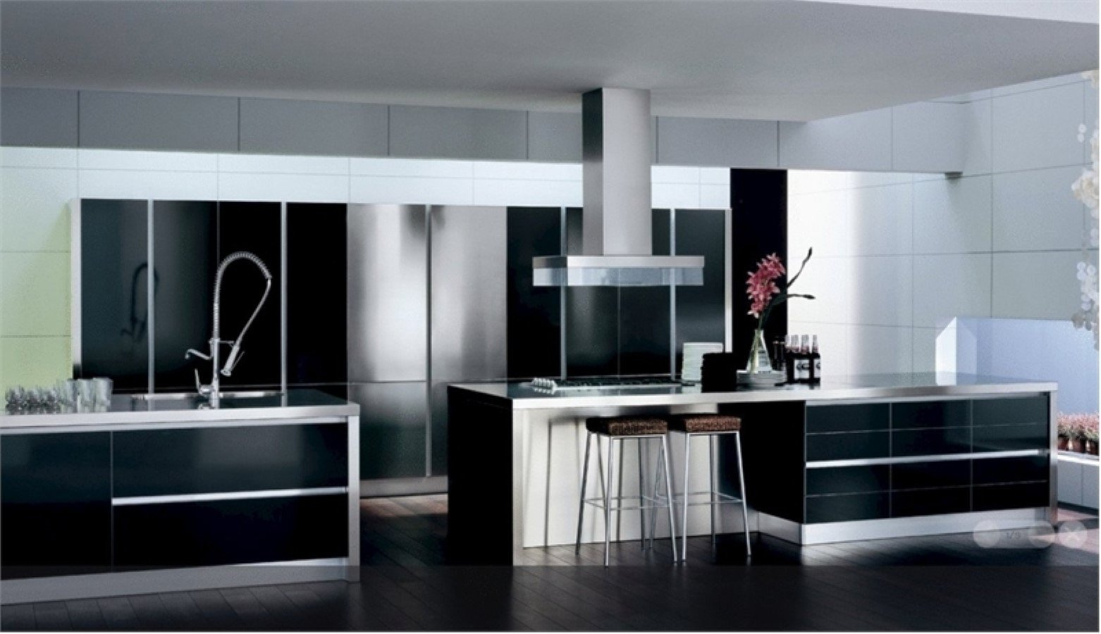 Black and White Kitchen Decor Inspirational Black and White Kitchen Decor to Feed Exclusive and Modern Passion