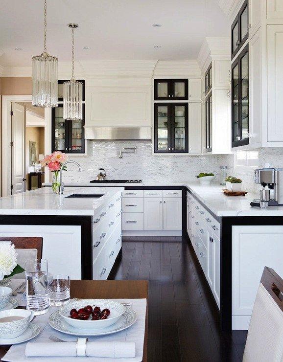 Black and White Kitchen Decor Inspirational Black and White Kitchen Design Contemporary Kitchen Gluckstein Home