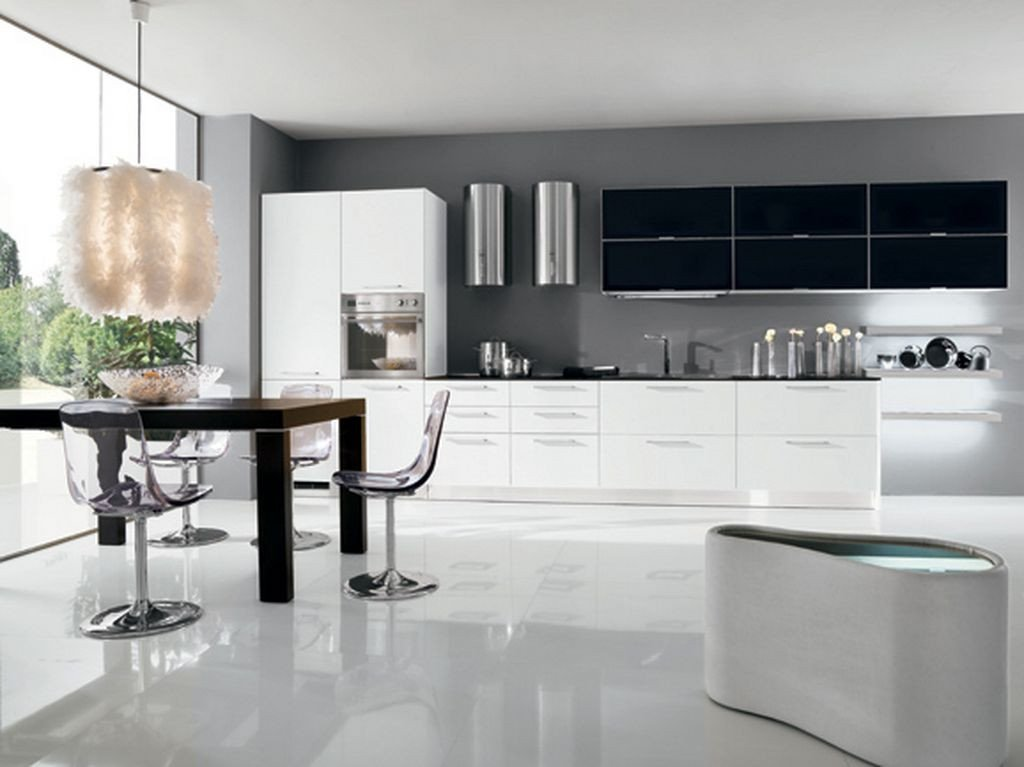 Black and White Kitchen Decor Luxury Black and White Kitchen Decor to Feed Exclusive and Modern Passion