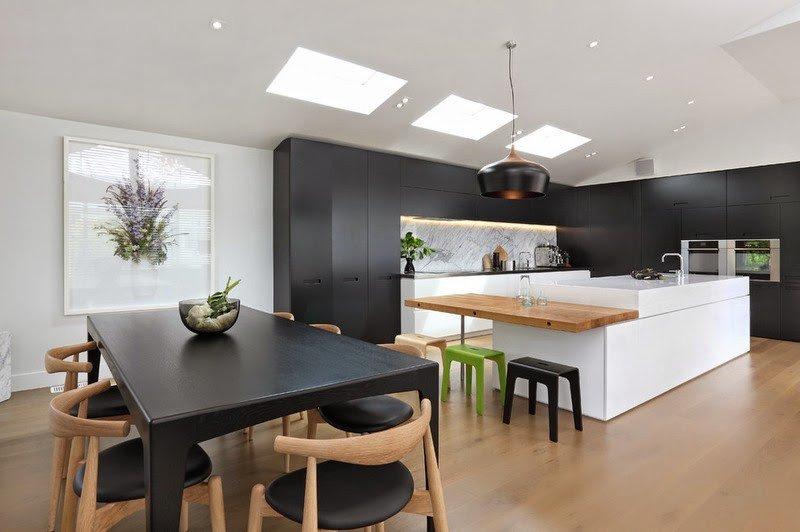 Black and White Kitchen Decor Luxury Black and White Kitchen Ideas