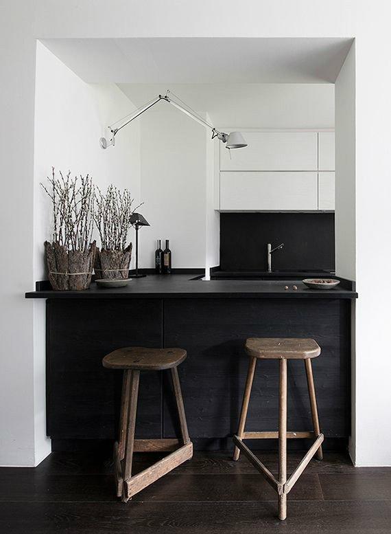 Black and White Kitchen Decor New 33 Inspired Black and White Kitchen Designs Decoholic