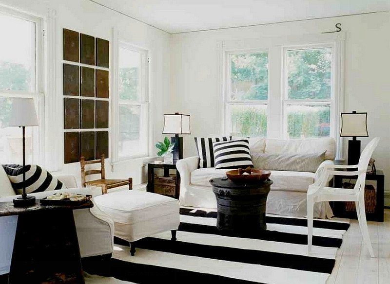 Black and White Living Room Decorating Ideas Awesome Black and White Living Rooms Design Ideas