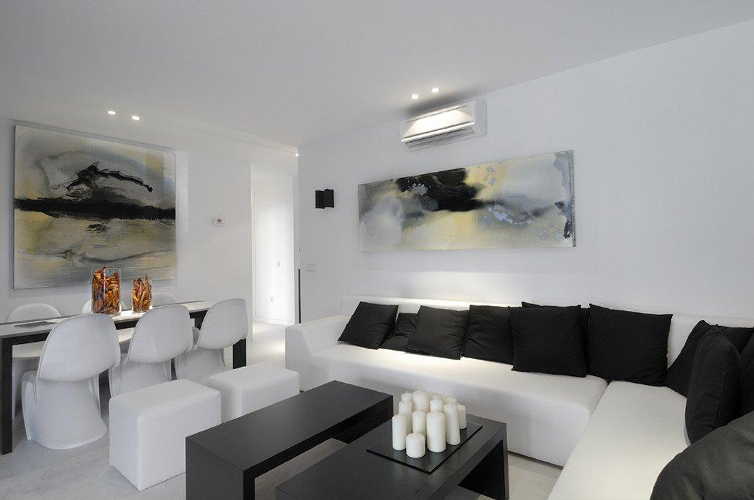 Black and White Living Room Decorating Ideas Best Of 17 Inspiring Wonderful Black and White Contemporary Interior Designs Homesthetics Inspiring