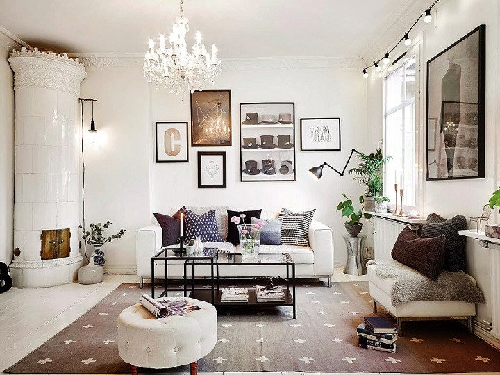 Black and White Living Room Decorating Ideas Fresh 48 Black and White Living Room Ideas Decoholic