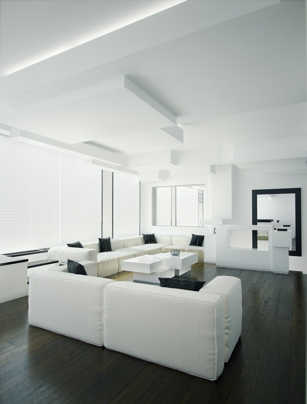 Black and White Living Room Decorating Ideas Fresh Black and White Living Room Interior Design Ideas