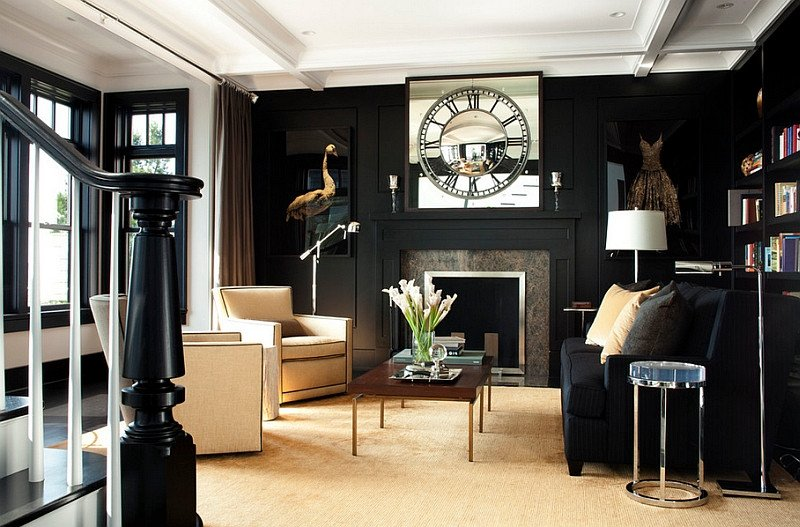 Black and White Living Room Decorating Ideas Fresh Black and White Living Rooms Design Ideas