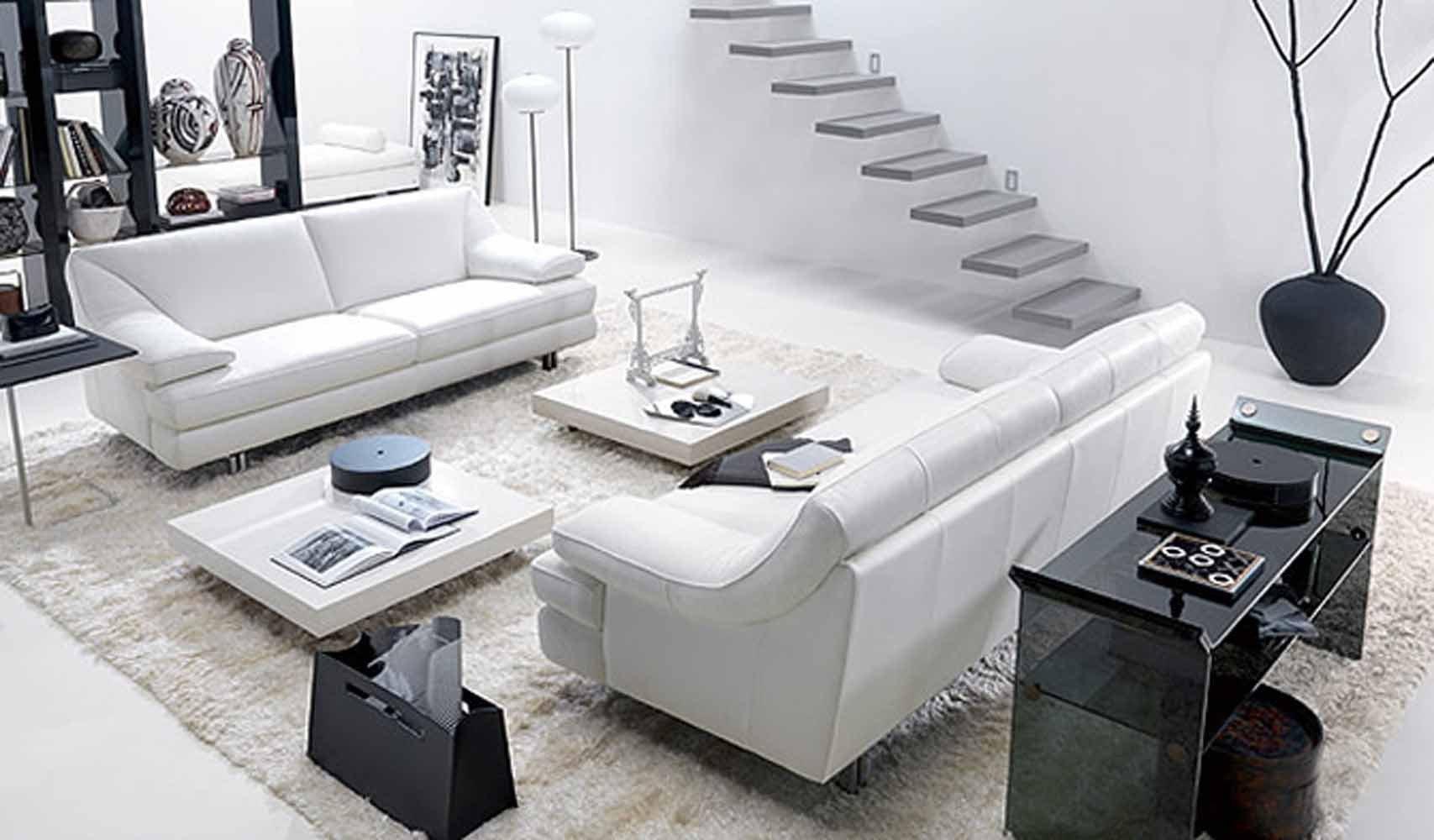 Black and White Living Room Decorating Ideas Inspirational 17 Inspiring Wonderful Black and White Contemporary Interior Designs Homesthetics Inspiring