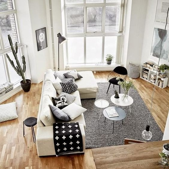 Black and White Living Room Decorating Ideas Inspirational 48 Black and White Living Room Ideas Decoholic
