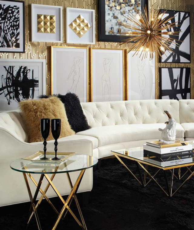 Black and White Living Room Decorating Ideas New 15 Black and White Living Room Ideas