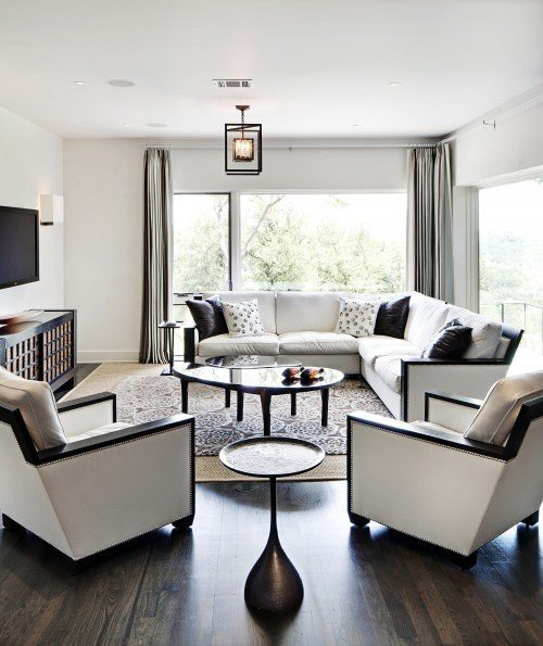 Black and White Living Room Decorating Ideas Unique Black and White Living Room Interior Design Ideas Interior Design