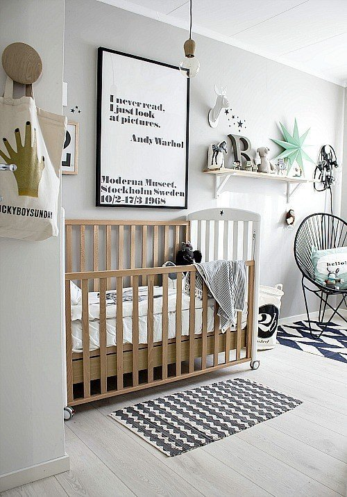 Black and White Nursery Decor Awesome Black and White Nursery Ideas Decor Lovedecor Love