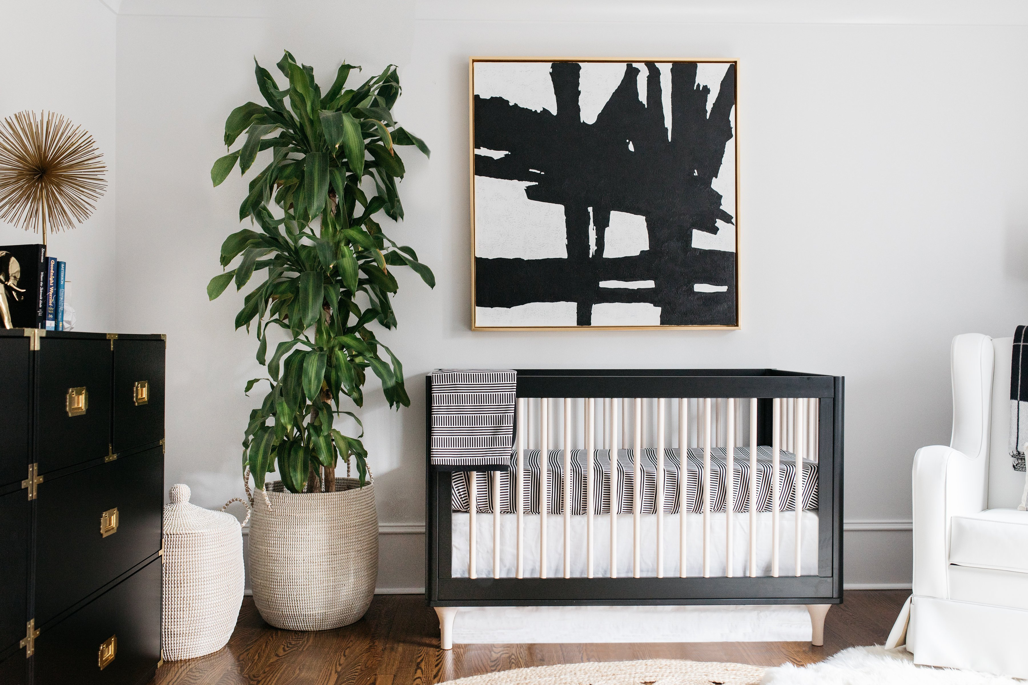 Black and White Nursery Decor Beautiful Celebrity Design Reveal Emily Maynard S Nursery Project Nursery