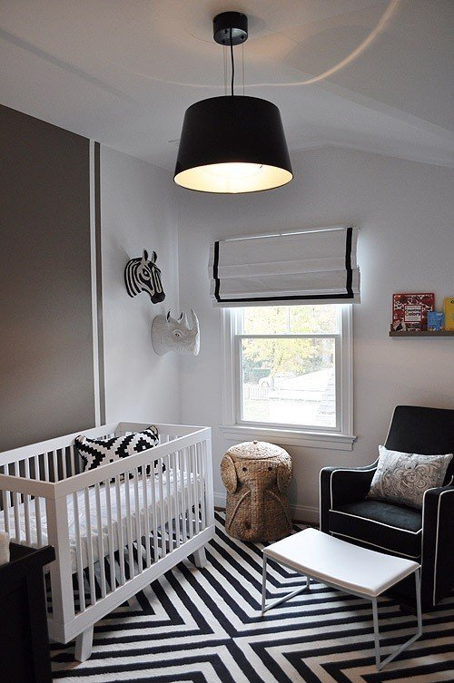 Black And White Nursery Ideas Decor LoveDecor Love