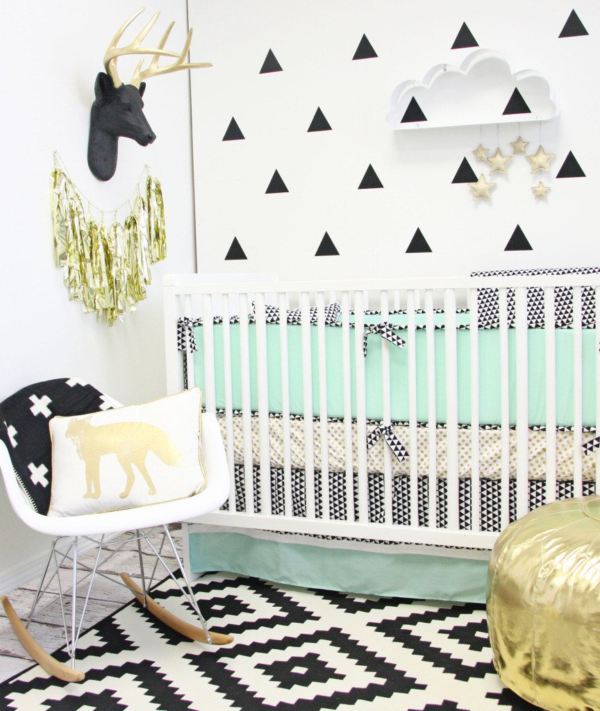 Black and White Nursery Decor Fresh 10 Nursery Trends for 2015 Project Nursery