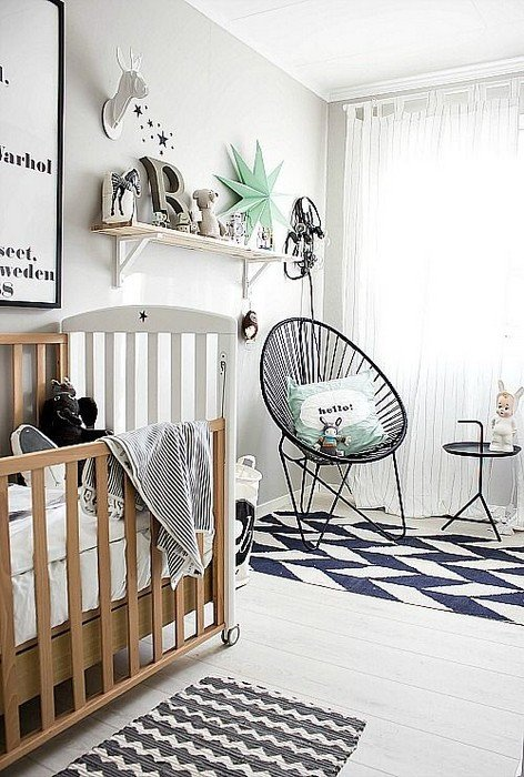 Black and White Nursery Decor Inspirational 25 Interior Design with Black and White Rugs
