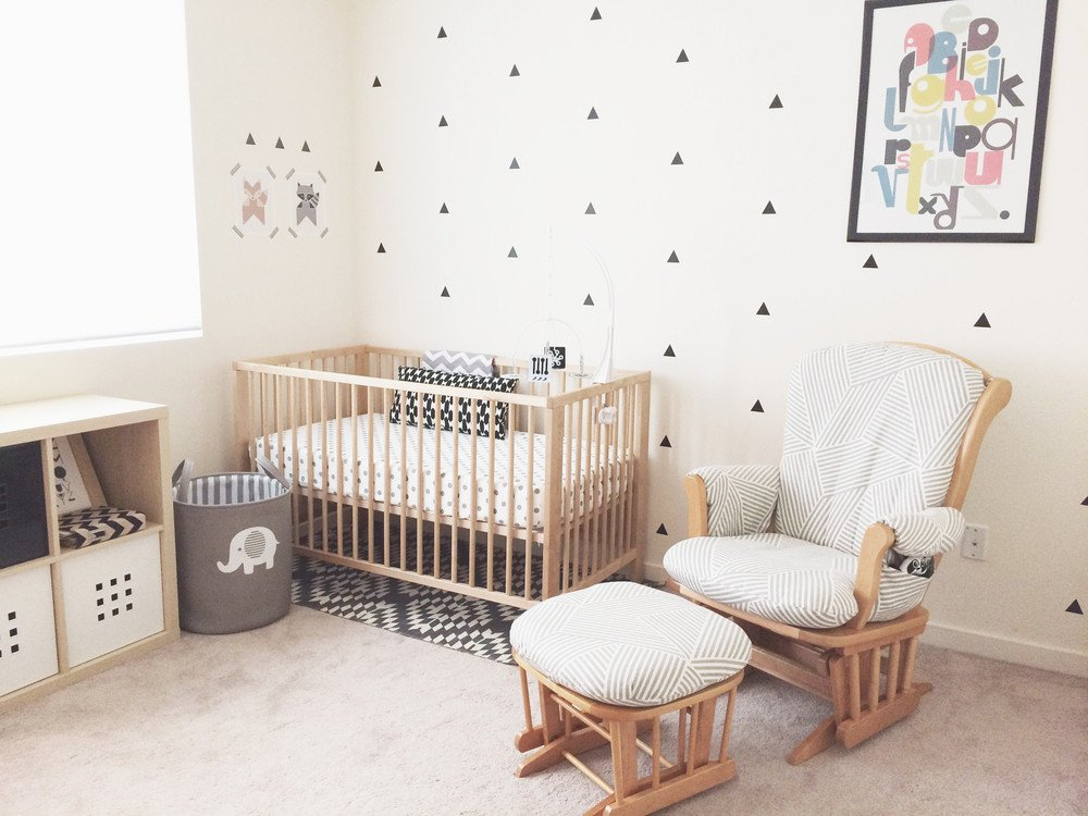 Black and White Nursery Decor Inspirational Ink by Jeng