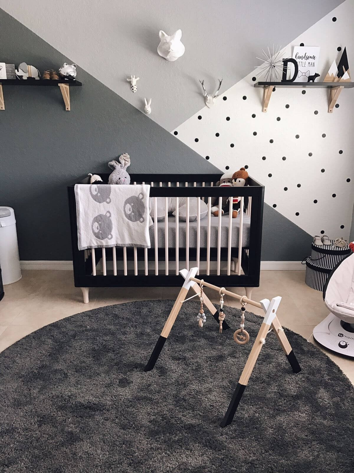Black and White Nursery Decor New 35 Best Nursery Decor Ideas and Designs for 2017