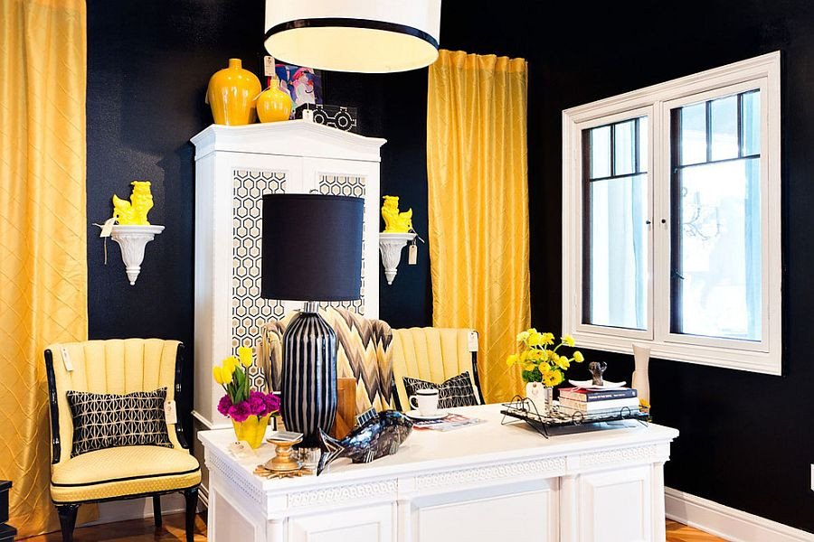 Black and White Office Decor Best Of 30 Black and White Home Fices that Leave You Spellbound