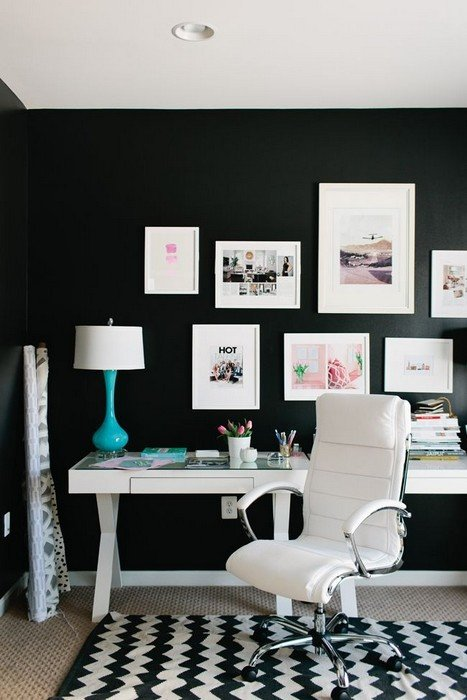 Black and White Office Decor Elegant 25 Interior Design with Black and White Rugs