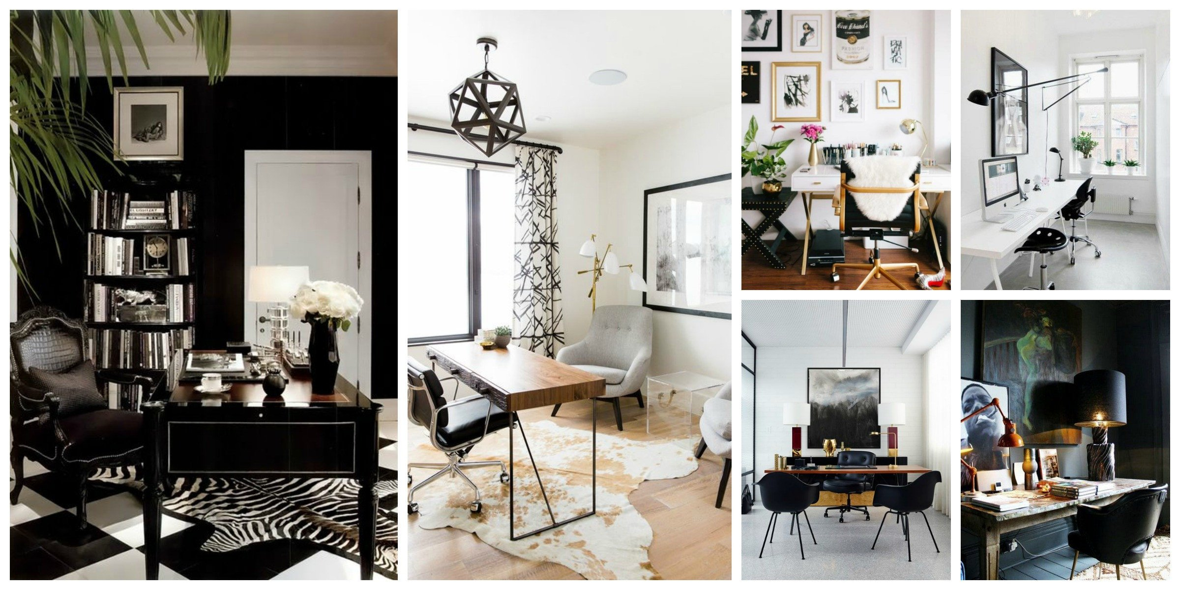 Black and White Office Decor Lovely Bloggers Fice Decor Glam White Versus Mysterious Dark – the Fashion Tag Blog
