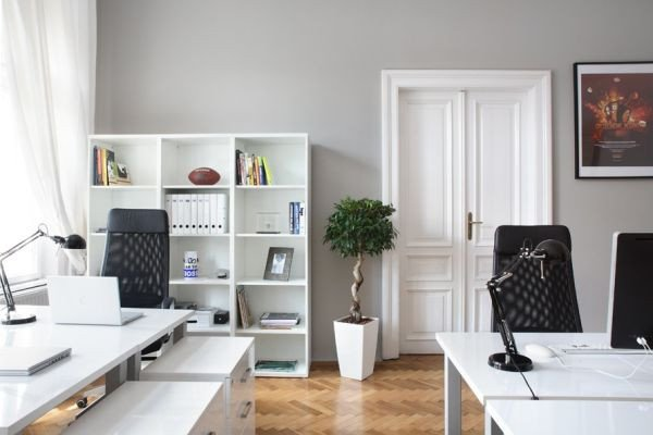 Black and White Office Decor Lovely Decorating A Black & White Fice Ideas & Inspiration