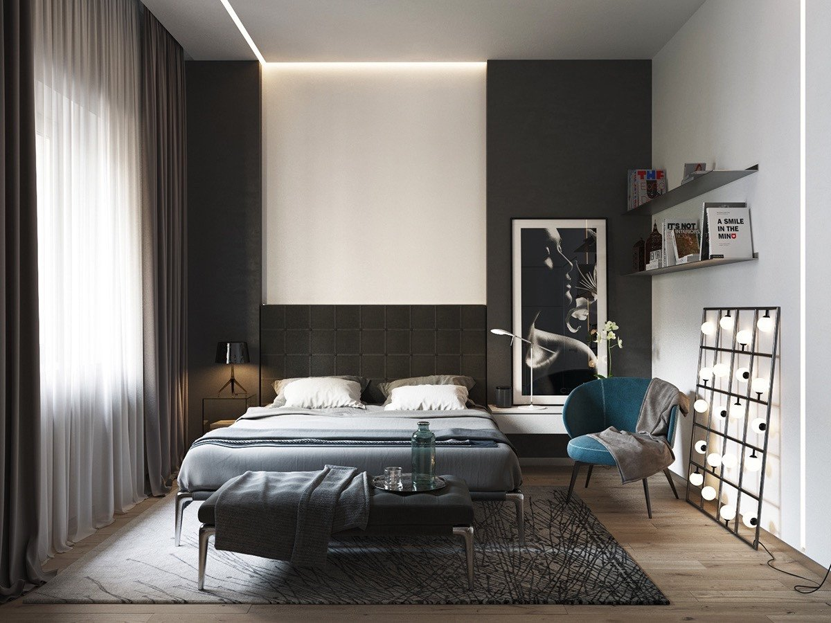 Black and White Room Decor Best Of 40 Beautiful Black & White Bedroom Designs