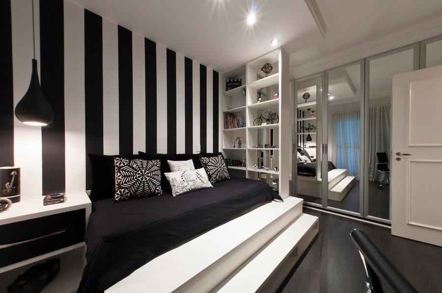 Black and White Room Decor Elegant Black and White Bedroom Interior Design Ideas