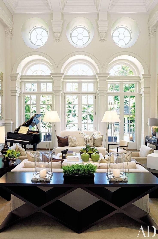 Black and White Room Decor Inspirational Black and White Living Room Interior Design Ideas